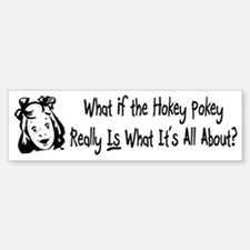 Hokey Pokey Bumper Car Car Sticker