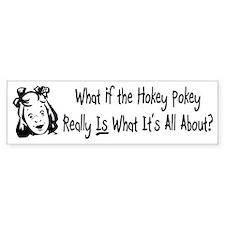 Hokey Pokey Bumper Car Sticker