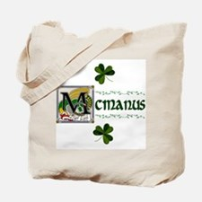 McManus Celtic Dragon Tote Bag
