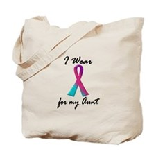 Thyroid Ribbon 1 (Aunt) Tote Bag