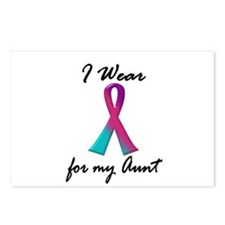 Thyroid Ribbon 1 (Aunt) Postcards (Package of 8)