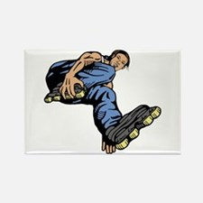 Rollerbladers rollerblade Rectangle Magnet (10 pac