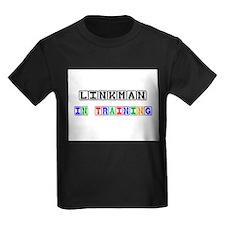 Linkman In Training Kids Dark T-Shirt