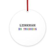Linkman In Training Ornament (Round)