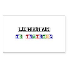 Linkman In Training Rectangle Sticker