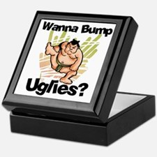 Fat Sumo Wrestler Keepsake Box