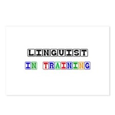Linguist In Training Postcards (Package of 8)