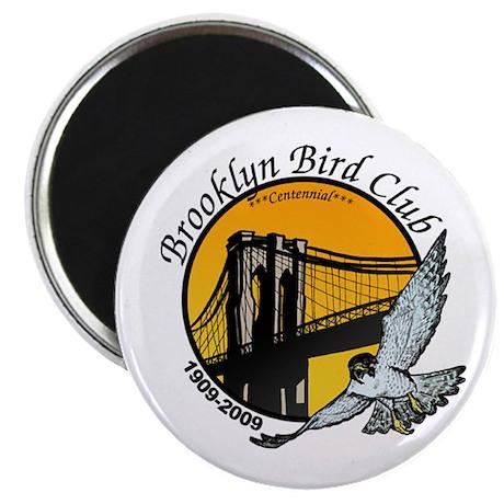 "Brooklyn Bird Club 2.25"" Magnet (10 pack)"