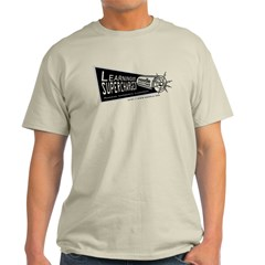 Learning Supercharged Ash Grey T-Shirt