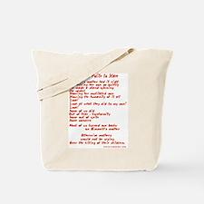 Poet Tees Tote Bag