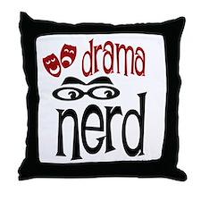 Drama Nerd Throw Pillow