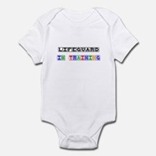 Lifeguard In Training Infant Bodysuit