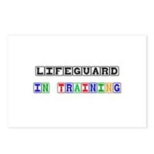 Lifeguard In Training Postcards (Package of 8)