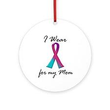 Thyroid Ribbon 1 (Mom) Ornament (Round)