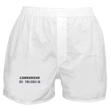 Librarian In Training Boxer Shorts