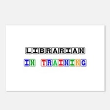 Librarian In Training Postcards (Package of 8)