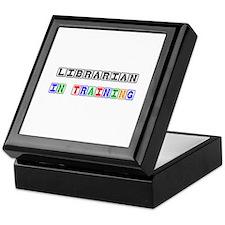 Librarian In Training Keepsake Box