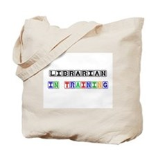 Librarian In Training Tote Bag