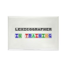 Lexicographer In Training Rectangle Magnet