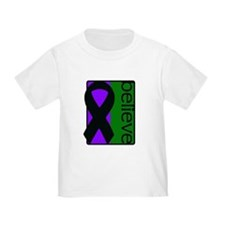 Purple and Green (Believe) Ribbon T