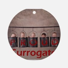 Proud 3 Ornament (Round)