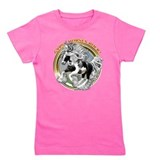 Gypsy vanner horse Girl's Dark T-Shirt