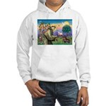 St Francis Doxie Hooded Sweatshirt