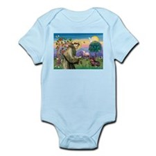 St Francis Doxie Infant Bodysuit