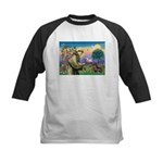 St Francis Doxie Kids Baseball Jersey