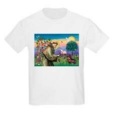 St Francis Doxie T-Shirt