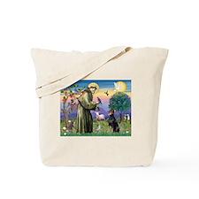 St. Francis Dobie Tote Bag