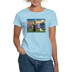St Francis & English Springer T-Shirt
