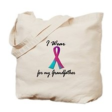 Thyroid Ribbon 1 (Grandfather) Tote Bag