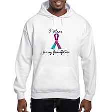 Thyroid Ribbon 1 (Grandfather) Hoodie