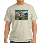 St. Francis Brindle Frenchie Light T-Shirt