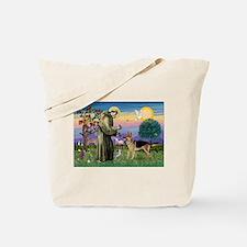 St Francis / G Shep Tote Bag