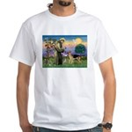 St Francis / G Shep White T-Shirt