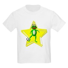 Girls Soccer Ms Frog Kids T-Shirt