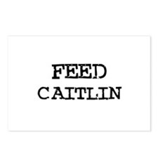 Feed Caitlin Postcards (Package of 8)