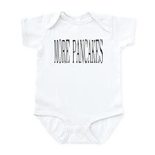 MORE PANCAKES Infant Bodysuit