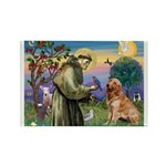 St Francis & Golden Rectangle Magnet (10 pack)