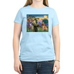 St Francis & Golden Women's Light T-Shirt