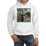St Francis & Golden Hooded Sweatshirt