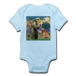 St Francis & Golden Infant Bodysuit