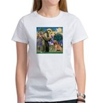 St Francis & Golden Women's T-Shirt