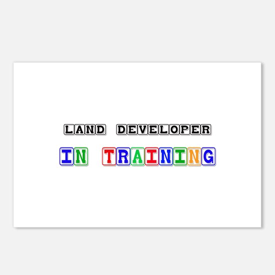 Land Developer In Training Postcards (Package of 8