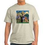 Saint Francis' Golden Light T-Shirt
