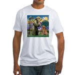 Saint Francis' Golden Fitted T-Shirt