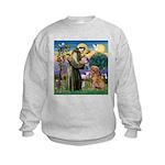 Saint Francis' Golden Kids Sweatshirt