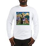 Saint Francis' Golden Long Sleeve T-Shirt